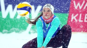 Swapping sand for snow: Moscow to host winter Volleyball European Tour