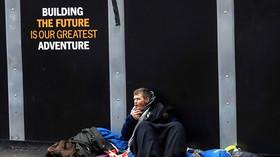 'We should be ashamed': British govt slammed over 24 percent rise in homelessness