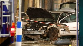 'Possible suicide attempt': Car rams into crowded bus stop in Germany leaving 1 dead & 9 injured