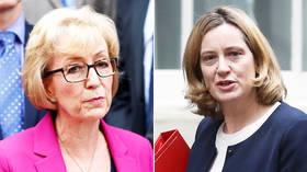 Tories at war: Leadsom rebukes Rudd's 2nd Brexit referendum remarks