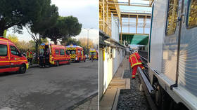 Over 10 injured as metro train derails in Marseille, France