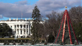 Govt shutdown and crazy climber keep National Christmas Tree dark