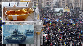 Tanks on Maidan, president's gold bath & more outrageous Ukraine fakes by disgraced Spiegel reporter