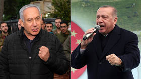 'Head of state terror' v 'anti-Semitic dictator': Netanyahu and Erdogan trade insults