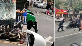 Man hijacks bus and drives it into crowd, killing 8 & injuring 22 in Longyan, China