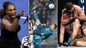 Picture perfect: Iconic images from the world of sport in 2018