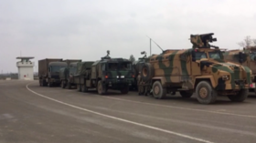 Turkey amasses troops at border as operation against Syria's Kurds looms (VIDEO)