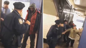 NYPD cop single-handedly fight off drunken mob to defend woman's honor (VIDEO)