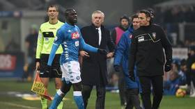 Napoli repeatedly requested halt of Inter match due to racist chanting from crowd