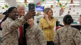 Media bashes Trump for 'doxxing' Navy Seals & troops for MAGA hats