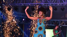 Miss Africa 2018 catches fire moments after winning crown (VIDEOS)