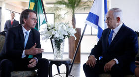 Netanyahu & Bolsonaro talk 'brotherhood' on Israeli PM's visit to Brazil, but not of embassy moves