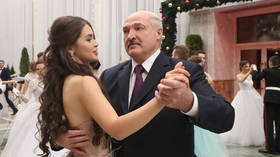 Belarusian president waltzes with Europe's first beauty at posh New Year ball (PHOTOS, VIDEO)