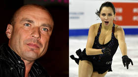 Tuktamysheva is back! Russian figure skating ace strips off ahead of hockey game