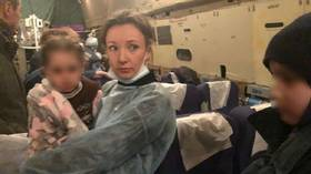 30 Russian children born to ISIS parents & kept in Iraqi jail at last get to return home