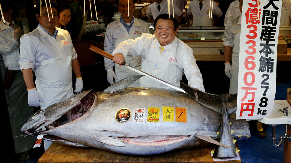 Fish worth 70kg of gold: Sushi king shells out $3.1 million for 'tasty' tuna