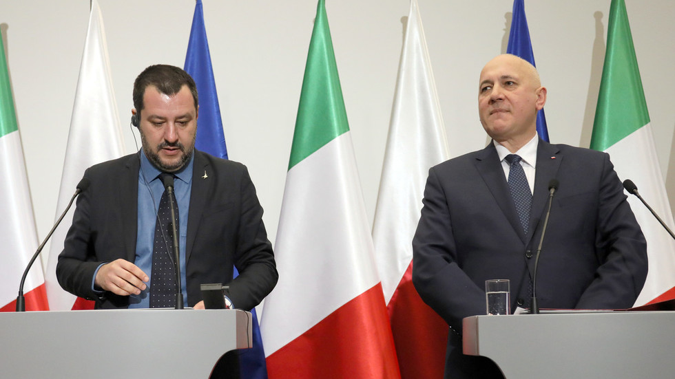 Italy's Salvini suggests 'European Spring' to bring end to 'German-French axis' on continent