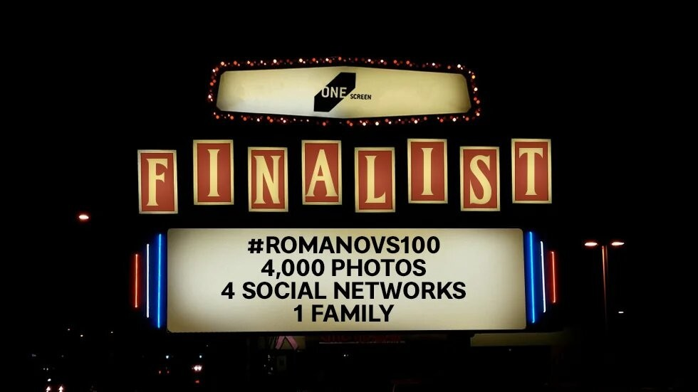#Romanovs100 trailers shortlisted for One Screen Short Film Festival in NY