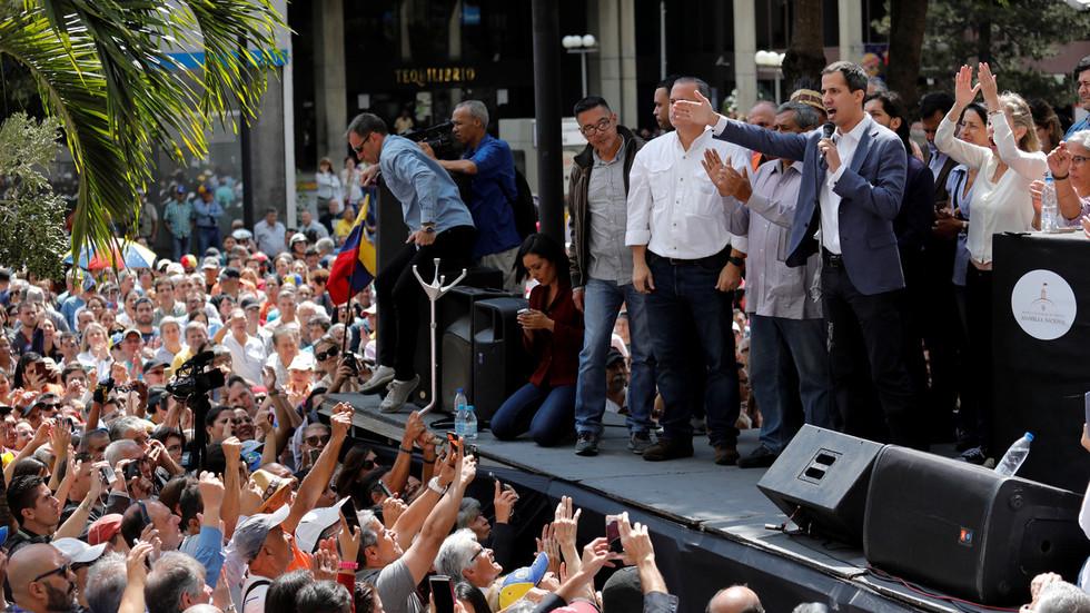 Venezuelan opposition seeks to depose Maduro in US-backed 'democratic' coup