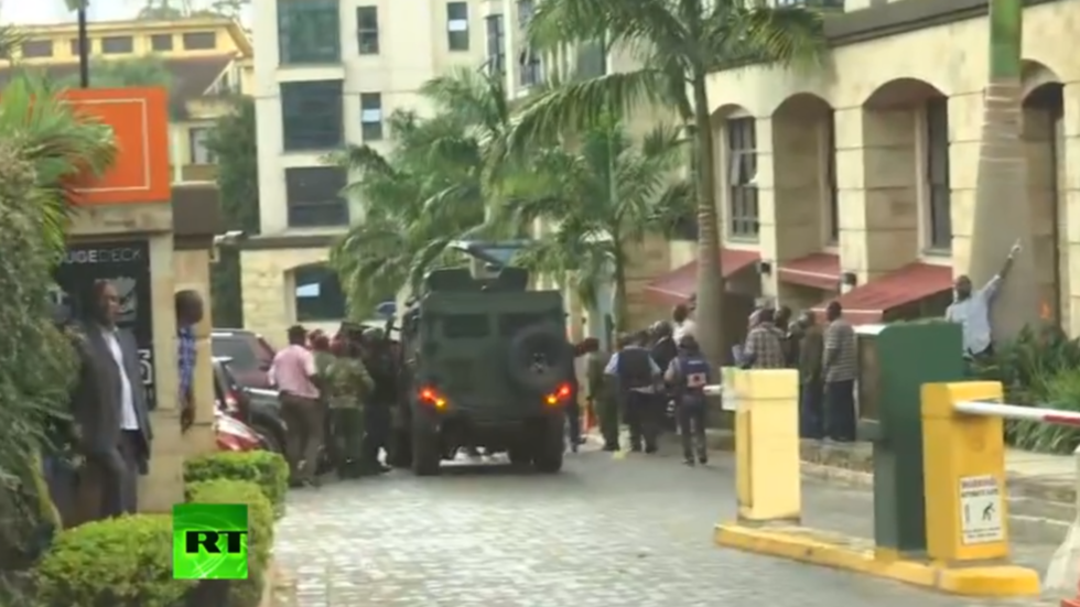 Fatality confirmed as Al-Qaeda-linked group claim responsibility for ongoing Kenya hotel attack