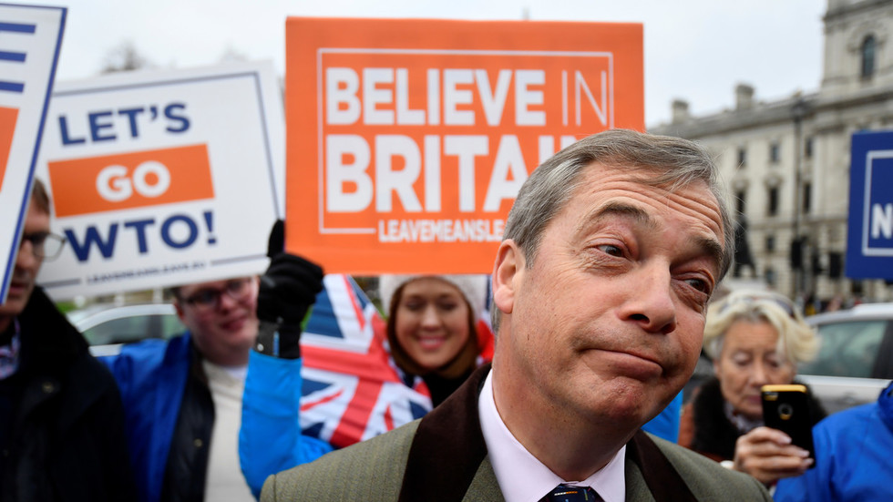Nigel Farage predicts new Brexit referendum would be won by even bigger 'LEAVE' vote