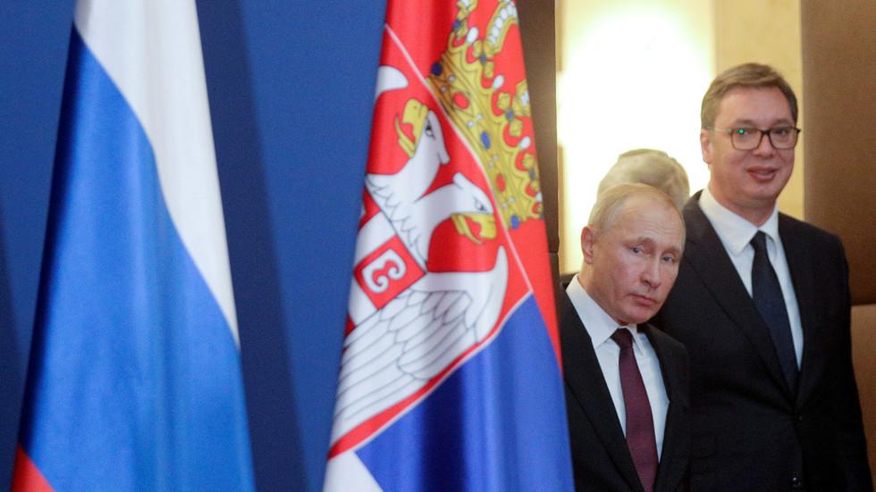 NATO, church & brotherhood of arms: Vladimir Putin visits Belgrade