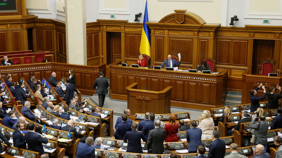Ukraine rushes through watered-down law on 'robbing church property'