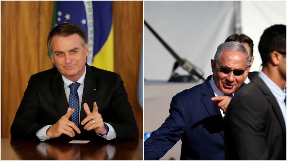 Jewish group sues Brazilian cartoonist over Netanyahu & Bolsonaro 'Nazi hug' drawing