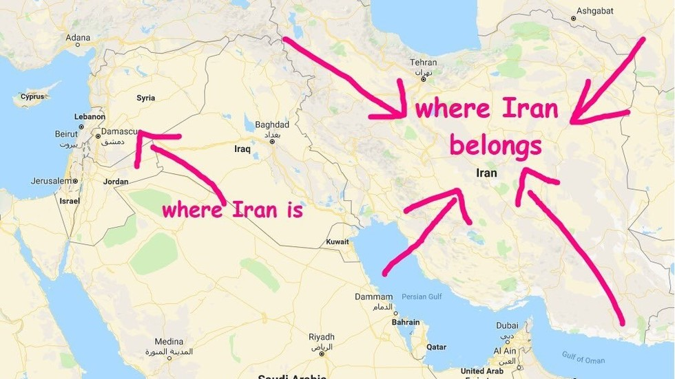 IDF tries its hand in MS Paint warfare to tell Iran 'where it belongs'