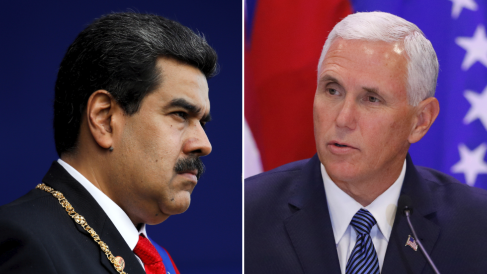 Maduro orders 'total revision' of Venezuela-US diplomatic ties after Pence calls for regime change