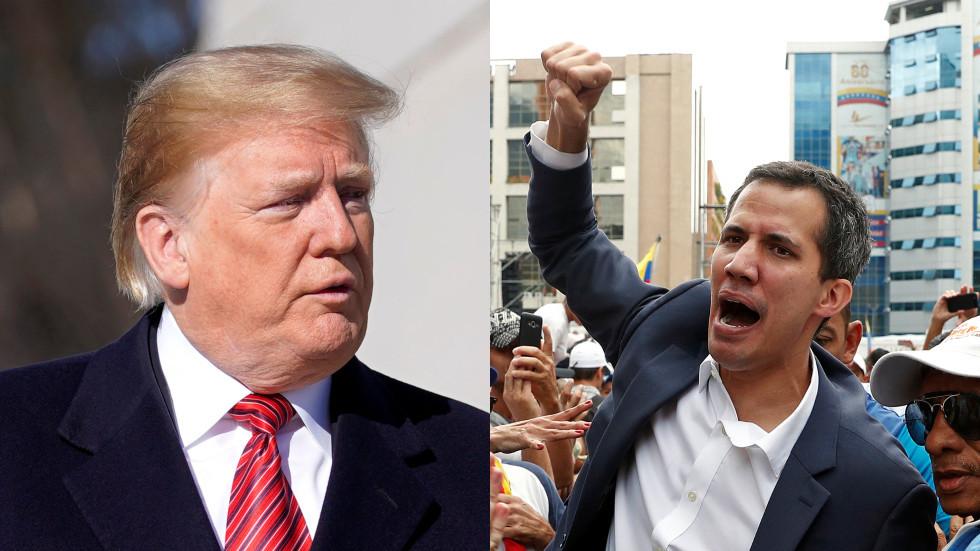 Suiga o le pulega i Venesuela i lalo o le taitaiga a le US pe a maeʻa le fiaai