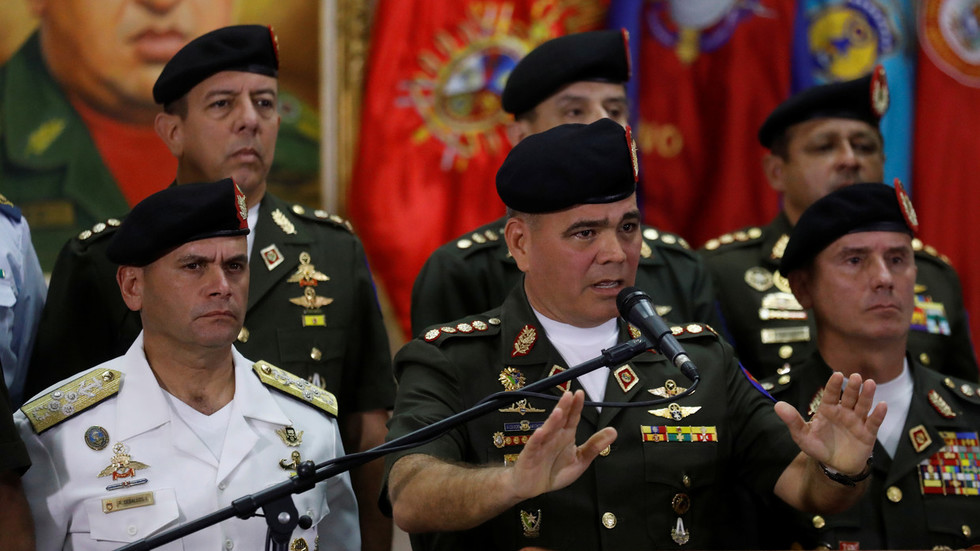 Venezuelan army disavows self-proclaimed leader, will defend national sovereignty – defense minister