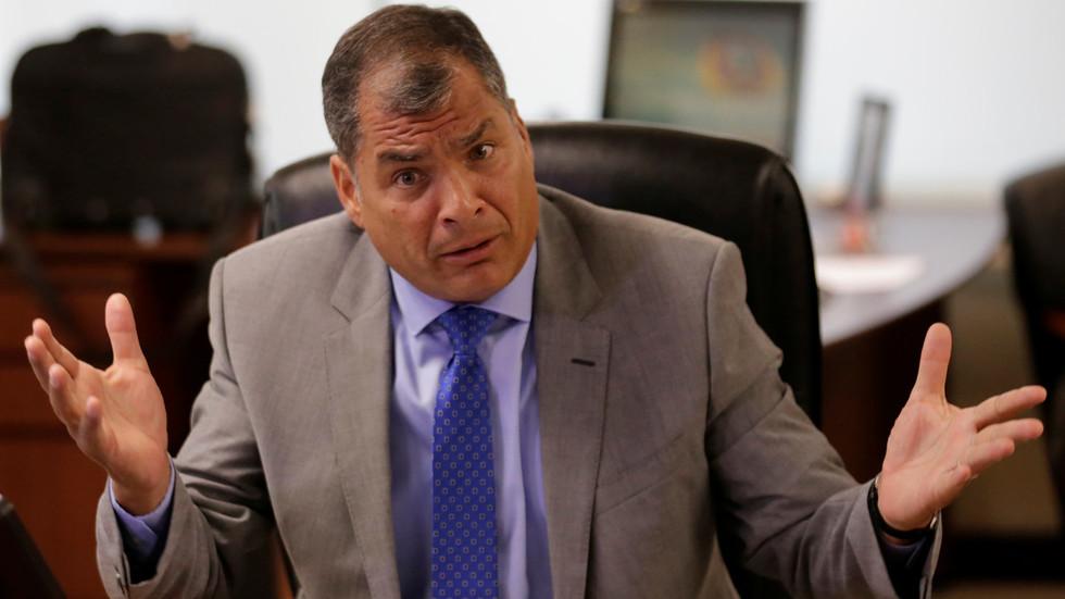 'New Operation Condor': Ecuadorian ex-president Correa slams US-backed Venezuela coup attempt