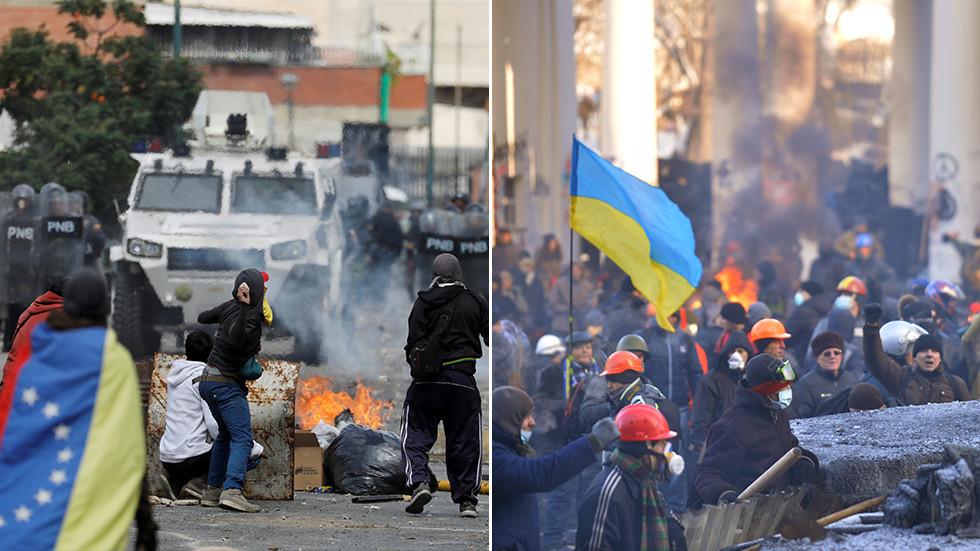 'Venezuela gets its Maidan': Ukrainian minister makes connection between regime change ops