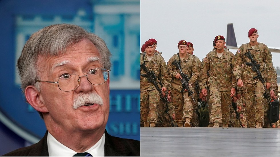Bogota says it has no clue about Bolton's puzzling '5,000 troops to Colombia' note