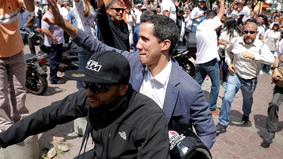 US threatens 'serious consequences' if Venezuela arrests 'president' Guaido
