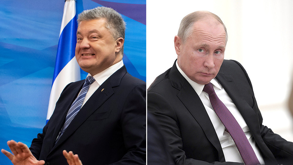 'Does Putin know he's running?' Poroshenko mocked for dragging Russian president into campaign ad