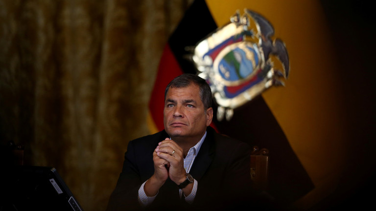 Ecuadorian ex-president Correa to RT: Сannot rule out US-backed 'military action' in Venezuela