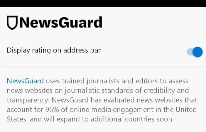 Microsoft Edge Gets NewsGuard Integration on Mobile to Curb Fake News