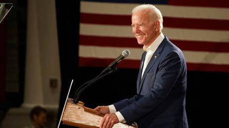 Former US Vice President Joe Biden © REUTERS/KC McGinnis