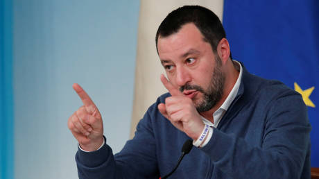 'They should rot in jail, not drink champagne': Salvini calls on Macron to stop shielding fugitives