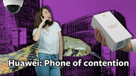 #ICYMI: Huawei to go: West worries that China's taking market share in phones and spies (VIDEO)