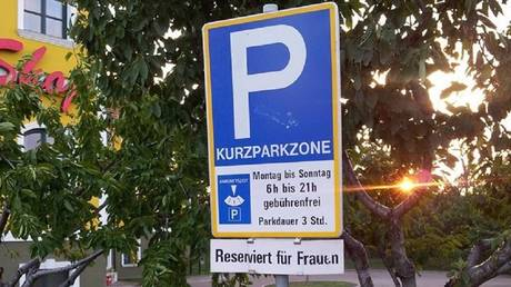 German man sues town for discrimination over 'woman-only' parking spaces