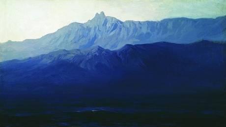"""Ai-Petri. Crimea"" painting by Arkhip Kuindzhi. © Wikipedia"