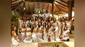 Neymar sees in New Year in style with group of white-clad women as sports stars welcome 2019