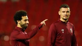 Salah has Liverpool teammate Lovren in stitches with cheeky New Year's message