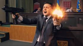 Clown show: Stand-up comic enters Ukrainian presidential race… and could win