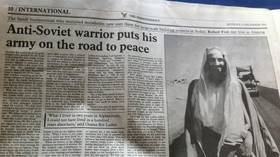 Among the mujahideen fighting the Soviets in Afghanistan was Osama bin Laden, profiled here by The Independent in 1993