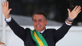 Bolsonaro says Brazil may host US base, calls Trump 'most powerful man in the world'