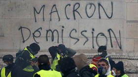 75% of French disapprove of Macron govt, poll reveals as Yellow Vest rallies simmer